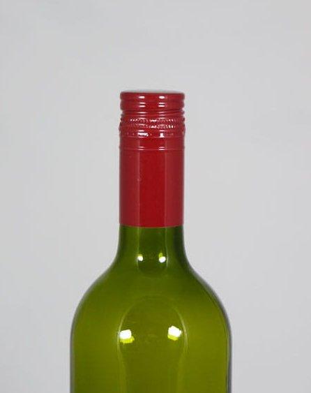 butelis su kamsciu apkirptas