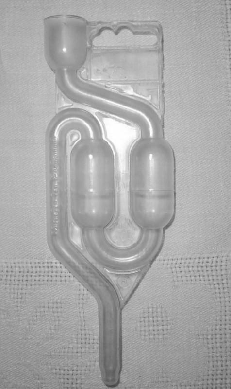 Oro vožtuvas fermentacijos indui iki 50 l