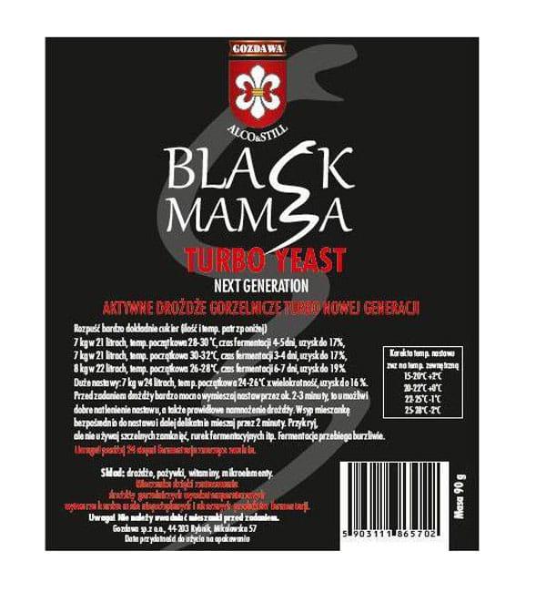 BLACK MAMBA aktyvios mielės - 105 g