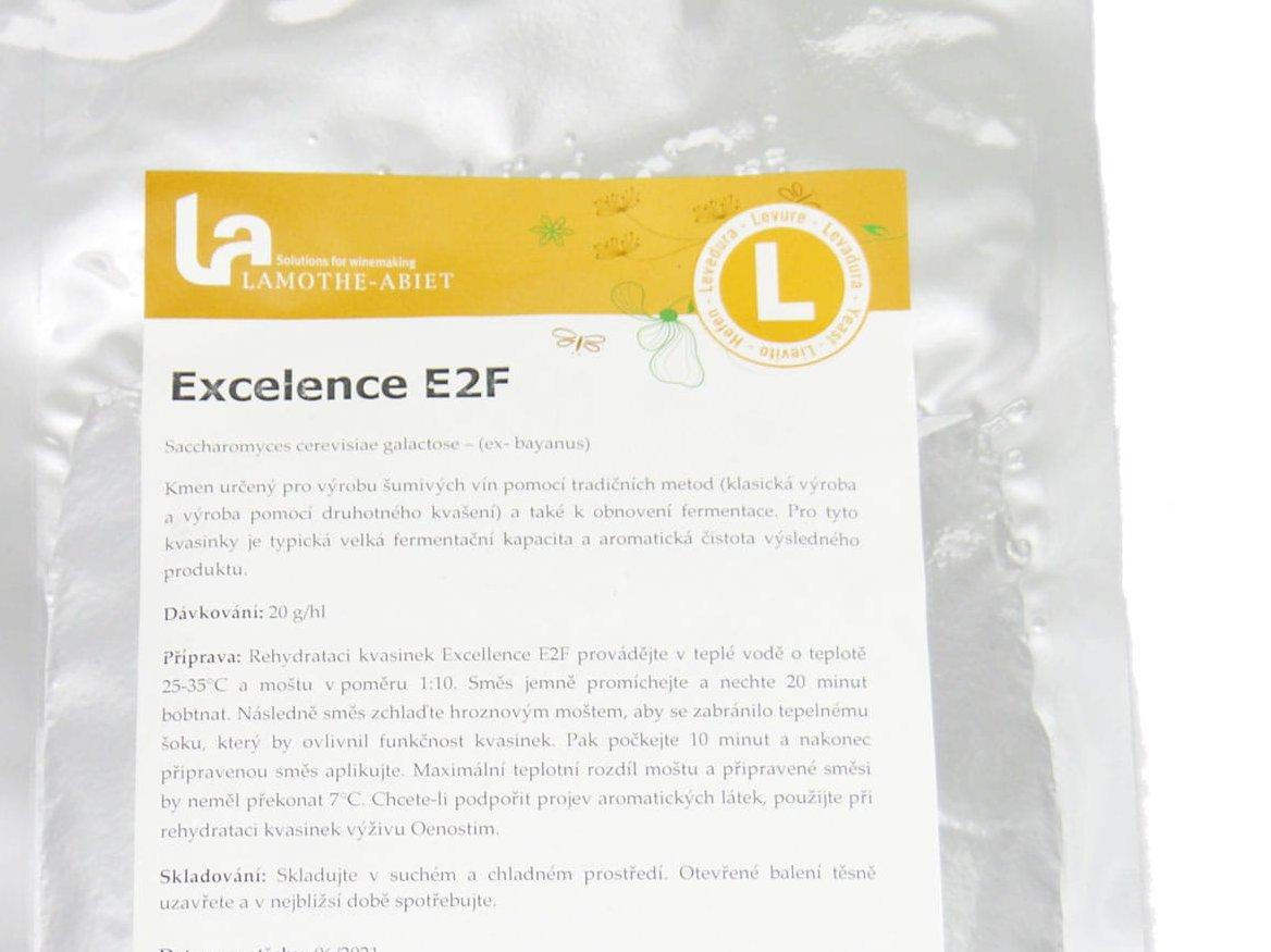 """""""Excellence E2F"""" - mielės putojantiems vynams ir sidrui"""